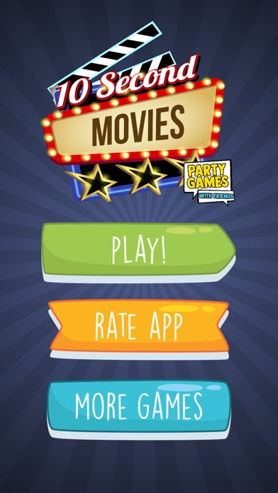 Screenshot for 10 Second Movies Party Game in Viet Nam App Store