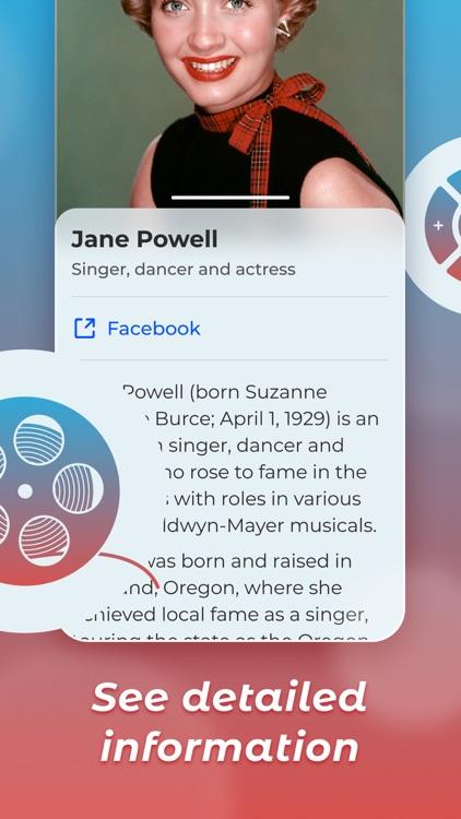 PopFaces-Recognize Celebrities screenshot-4