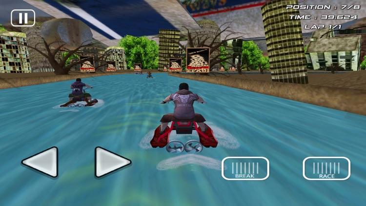 Jet Ski Racing Bike Race Games screenshot-3