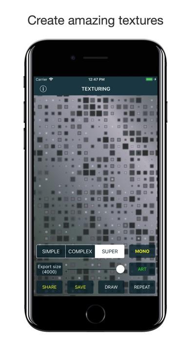 Texturing screenshot 1