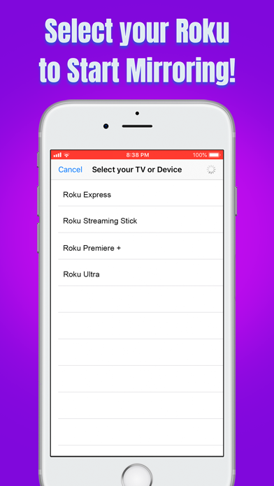 download Air Mirror for Roku TV apps 2