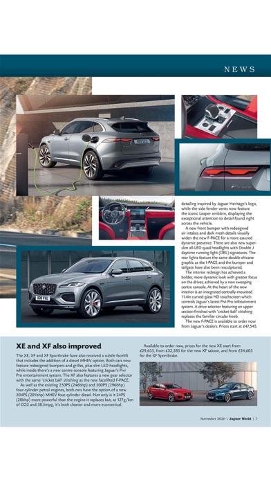 Jaguar World Magazineのおすすめ画像7