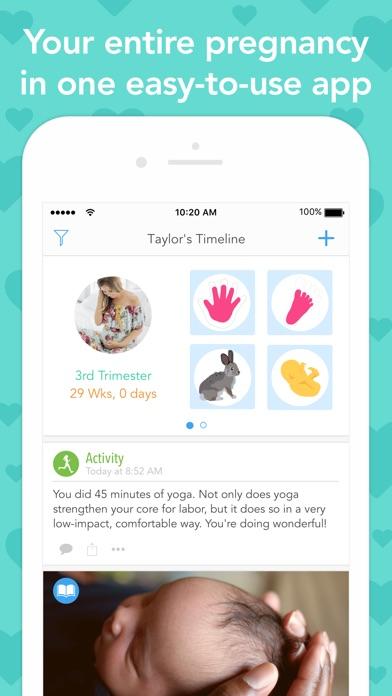 Ovia Pregnancy Tracker - AppRecs