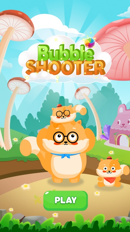 Bubble Shooter Cat World