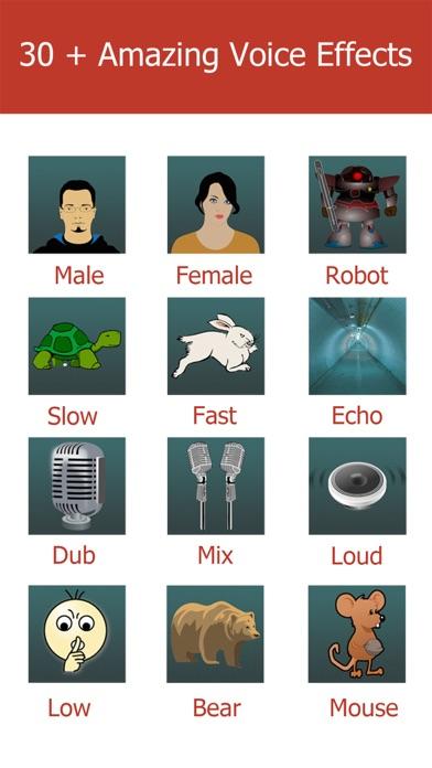 Screenshot #6 for Video Voice Changer-Fun Editor