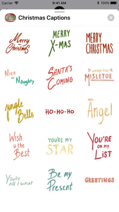 Christmas Captions.Christmas Captions App Price Drops