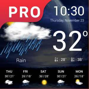 Weather : Weather forecast Pro app