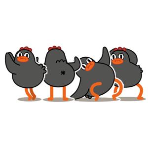 Dancing Chickmoji - Stickers app