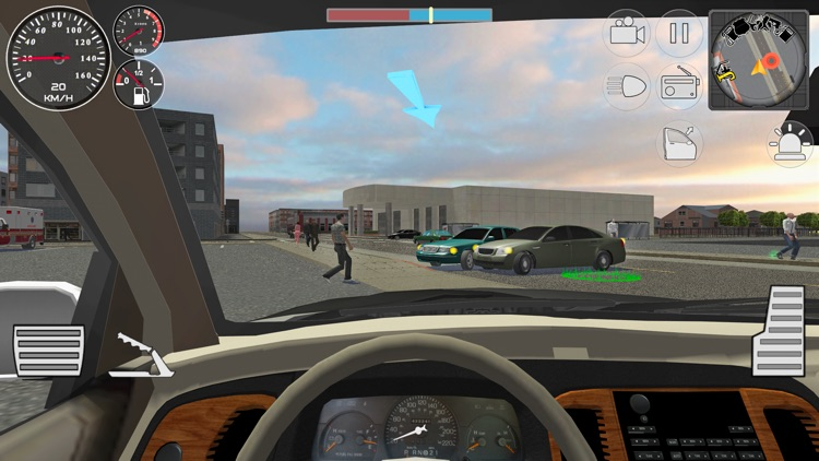 Police Cop Simulator. Gang War screenshot-3