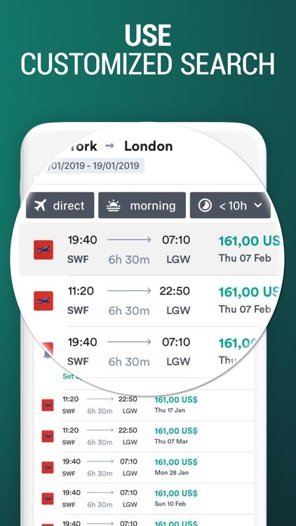 Kiwi.com: Cheap Flight Tickets screenshot-3