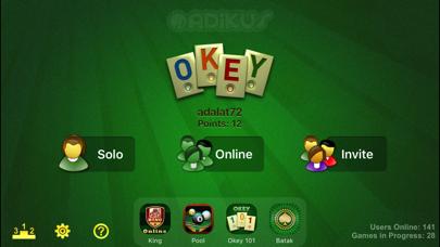 Screenshot #2 pour Okey Online