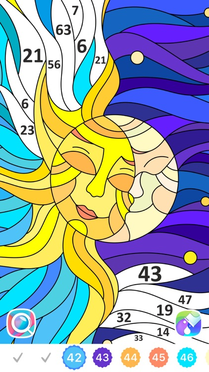 Color by Number, Coloring Book screenshot-6
