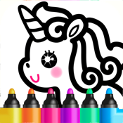 Kids Drawing Games for Girls 6 icon
