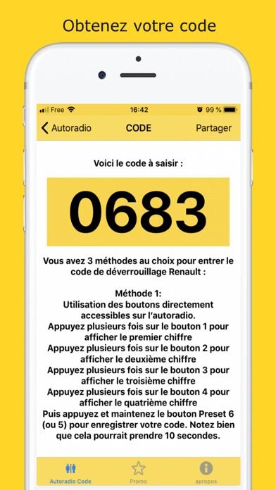 Screenshot for Car Radio Code in United States App Store