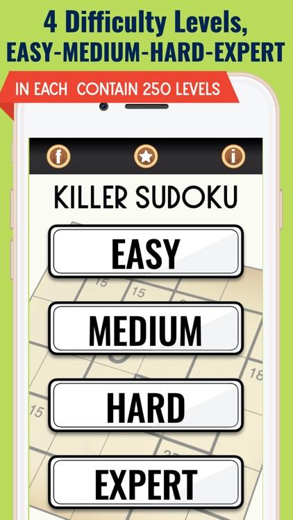 Killer Sudoku Puzzle Games screenshot-5