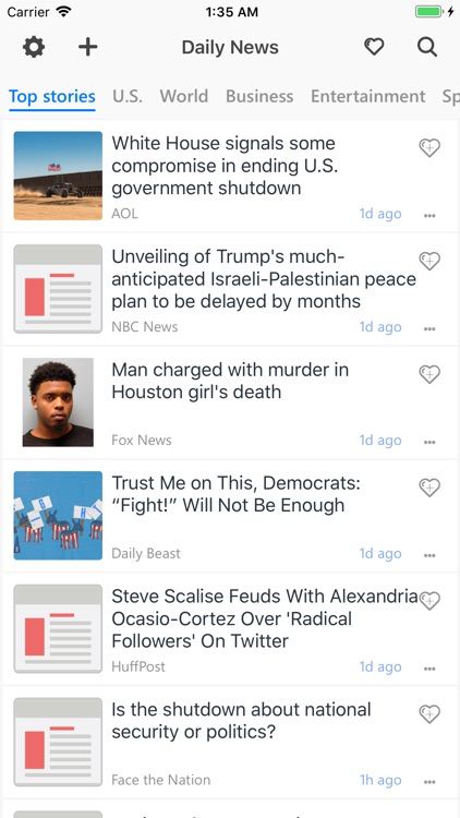 Unread: Breaking & Smart News
