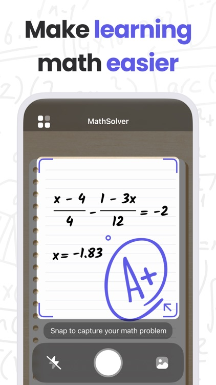 MathMaster: Camera Calculator screenshot-4