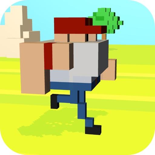 Pixel Boy Parkour