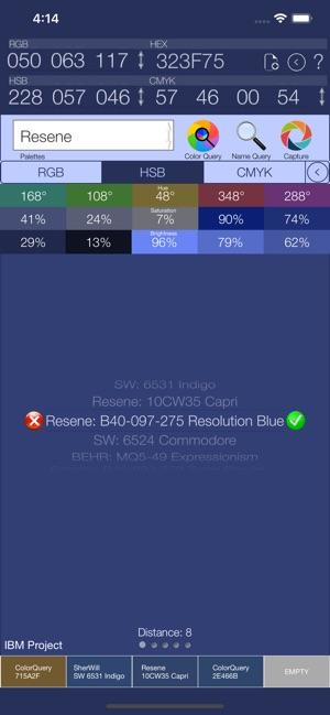 Color Query Pro Screenshot