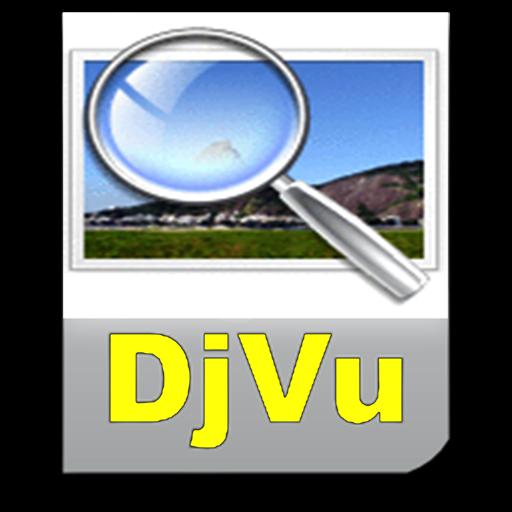 DjVu Viewer + DjVu to PDF