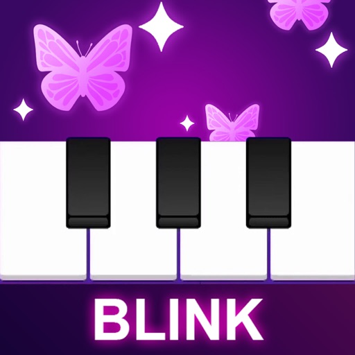 BLINK PIANO - KPOP PINK TILES icon