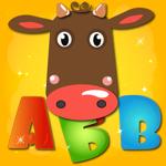 Учим буквы весело для детей! на пк
