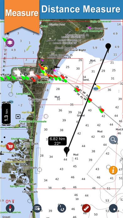 Screenshot for Seawell USA Marine Charts GPS in United States App Store