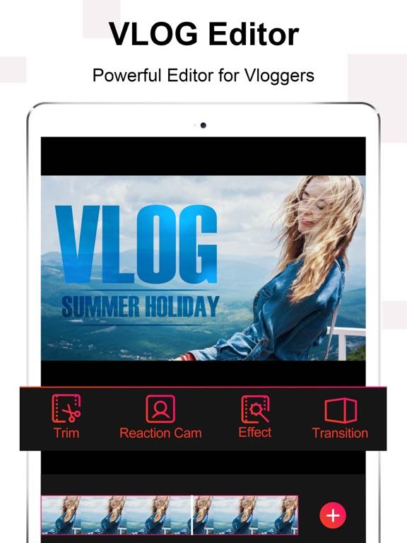 Vlog Star - yt studio editor-ipad-0