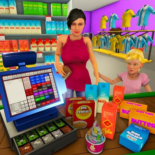 سوبر ماركت التسوق ألعاب 3D