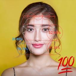 Beauty Score Golden Ratio Face