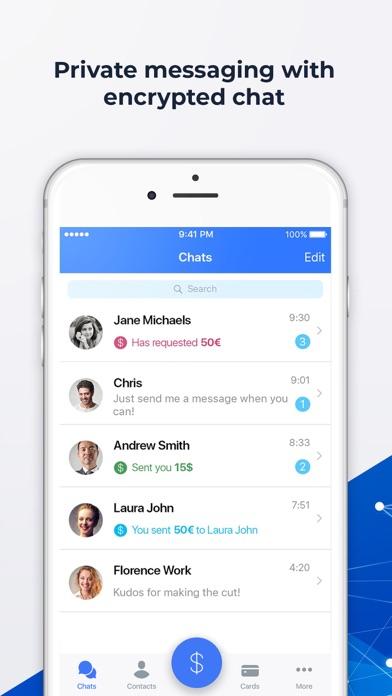 Moneymailme Screenshot on iOS
