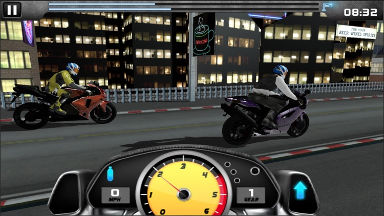 MotorBike Drag Racing screenshot-2
