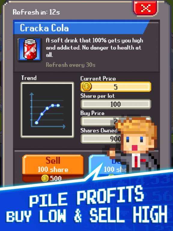 Tap Tap Trillionaire : Invest! - Revenue & Download