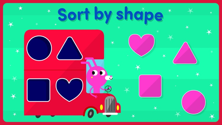 Shape games for kids toddlers