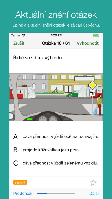 Screenshot for Autoškola 2019 in Czech Republic App Store
