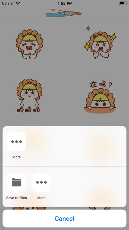 EmojiLeo Stickers screenshot-4