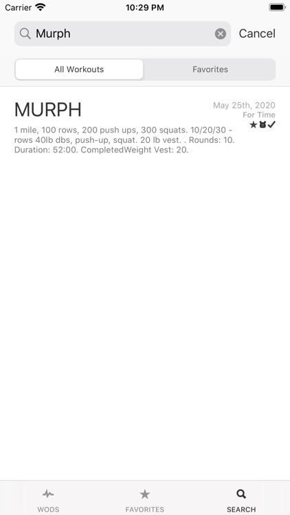 WOD Workout Timer and Log screenshot-7