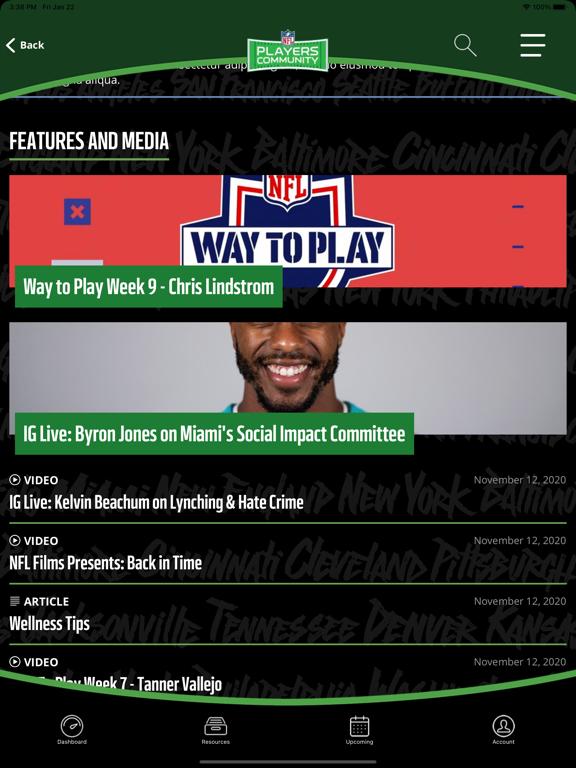 NFL Players Community screenshot 9