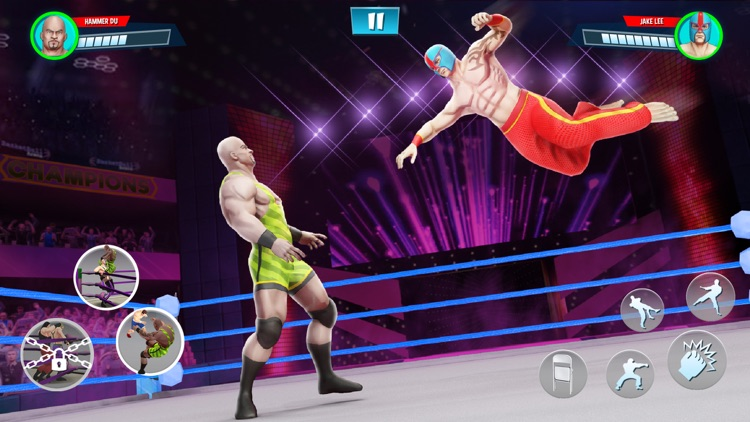 Wrestling Games Revolution 3D screenshot-8