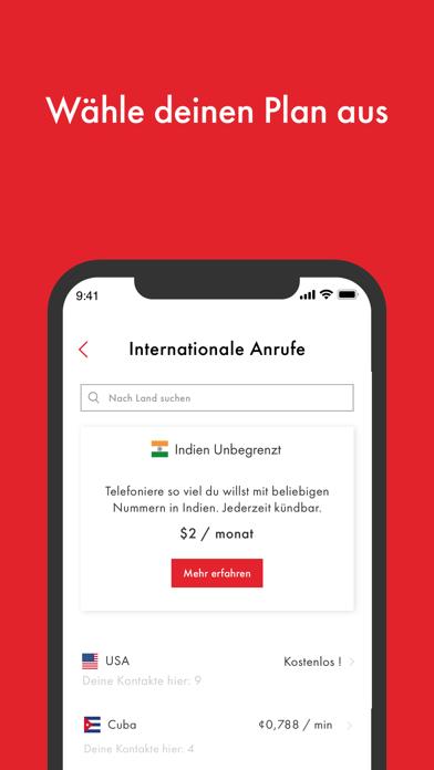 Rebtel: Internationale AnrufeScreenshot von 5