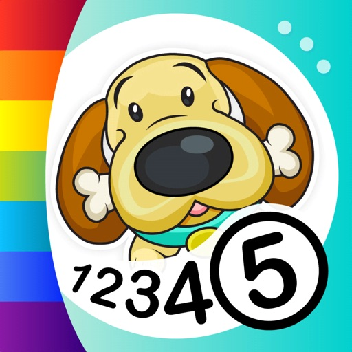 Color by Numbers - Dogs