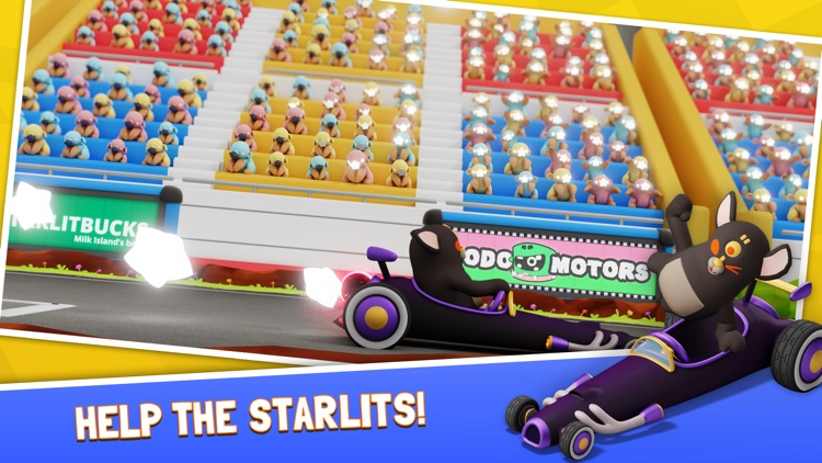 Starlit On Wheels: Super Kart screenshot-7