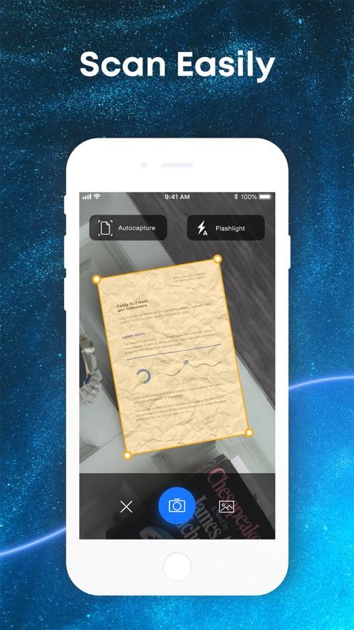 ScanMe PRO - PDF扫描仪应用程序 App 截图