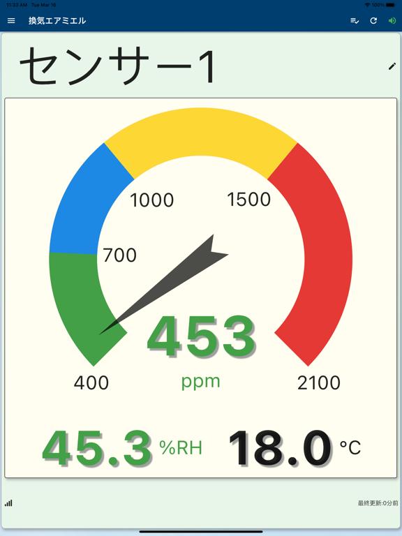 【CO2センサー】換気エアミエルのおすすめ画像1
