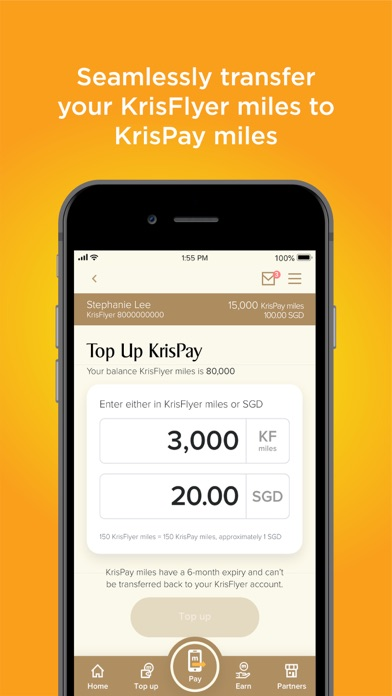 KrisPay SingaporeAir by Singapore Airlines Limited (iOS, United ...