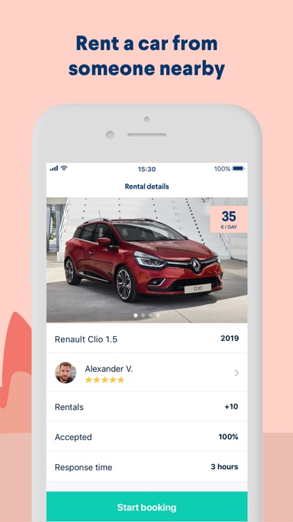 GoMore – rental & ridesharing screenshot-2