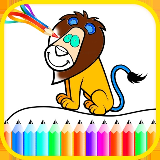 Animal Colour Drawing Book
