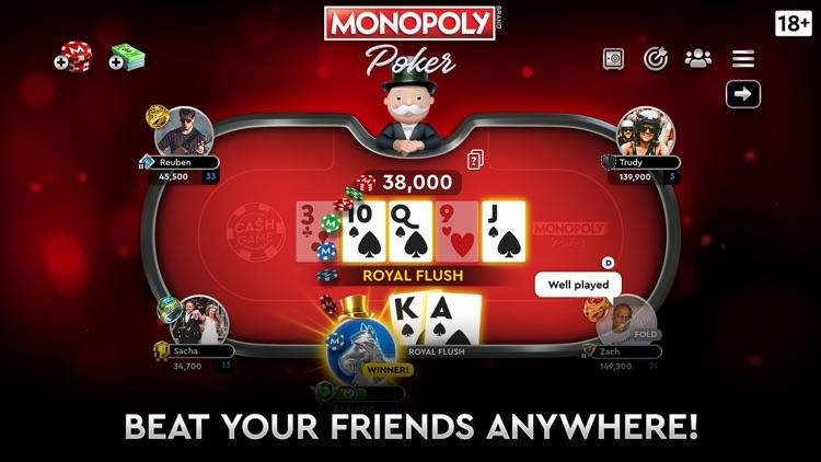 MONOPOLY Poker - Texas Holdem screenshot-3