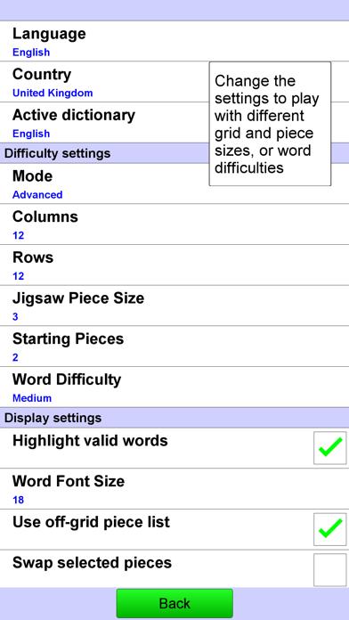 Jigsaw Crossword + screenshot three