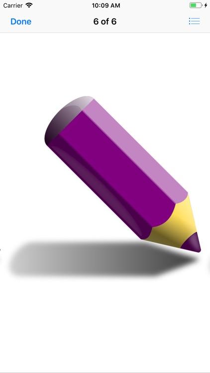 Pencil Crayons screenshot-5